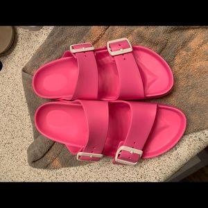 Waterproof Birkenstocks Arizona Eva shoes size 37